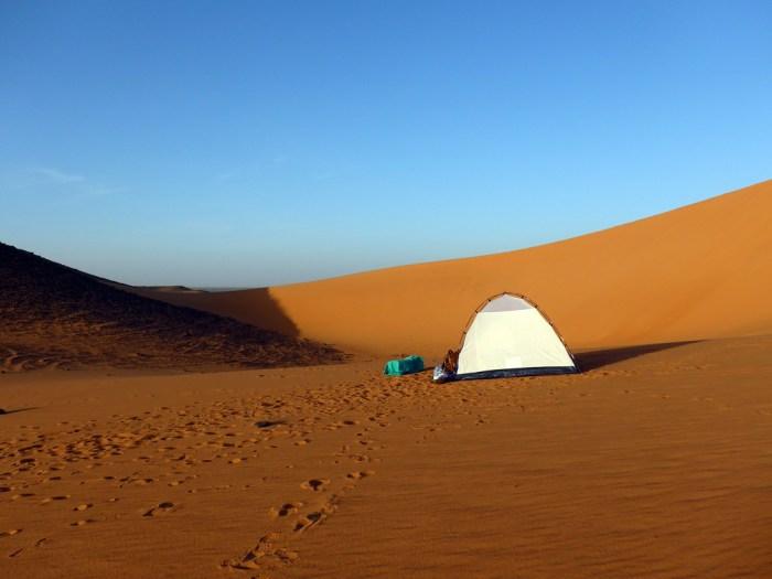 Sudan: Zelt mit Lüftung oben