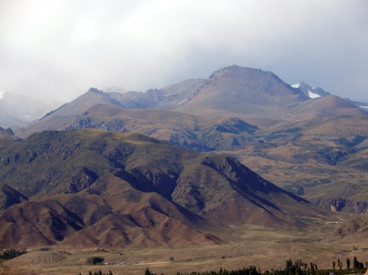 Spektakuläre Gebirge