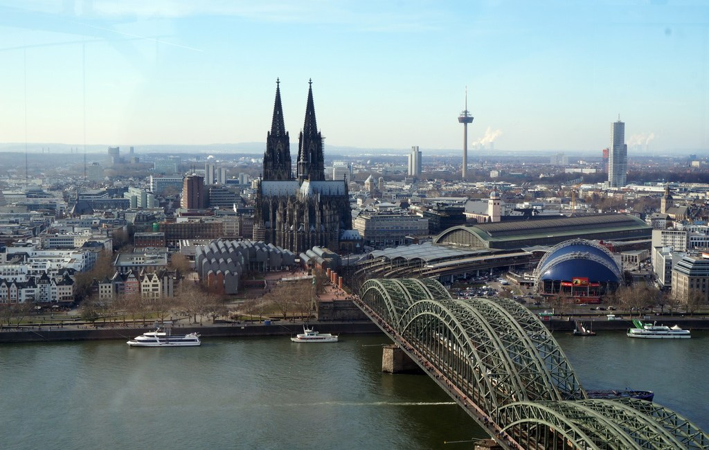 Ausblick auf den Kölner Dom