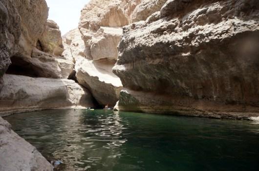 Schwimmtrekking durchs Wadi Shab