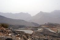 Serpentinen auf dem Jabal Akhdar