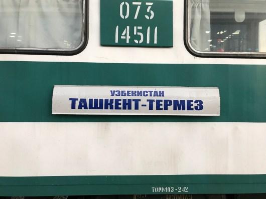 Zugreise von Tashkent nach Boysun