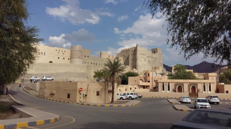 Festung in Bahla