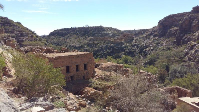 Weg zum Wadi Bani Habib