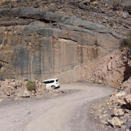 So beginnt die abenteuerliche Fahrt in das Wadi Bani Awf