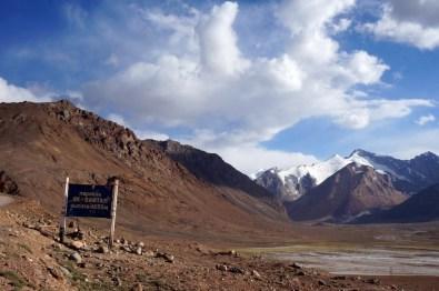 Mit einer Höhe von 4.655 Metern der höchste Pass am Pamir Highway