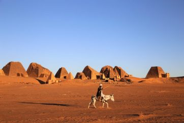 Meroe Sudan, Reisesicherheit in Sudan