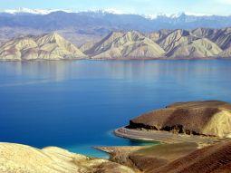 Gebirgssee in Kirgistan