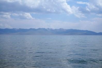 Kirgistans zweitgrößter Bergsee auf über 3.000 Höhenmetern