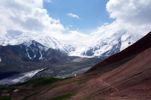 Ausblick vom Travellers Pass