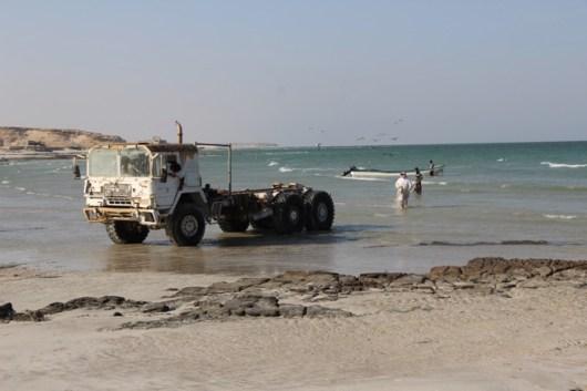 Fischer am Indischen Ozean