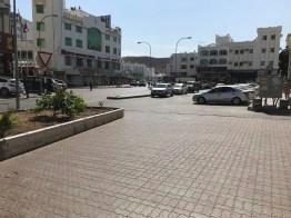 Muscat während der Mittagszeit