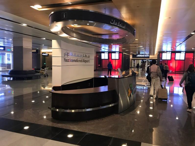 Stopover in Oman: Der neue Flughafen in Muscat