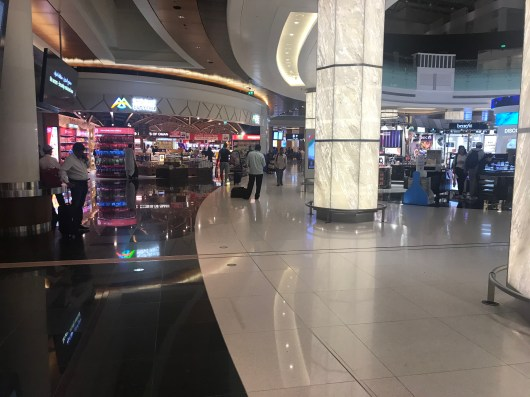 Der neue Flughafen in Muscat