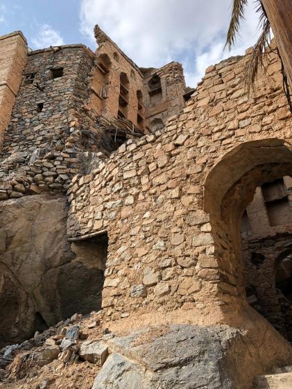 Alte Häuser in Misfah al-Ibriyeen