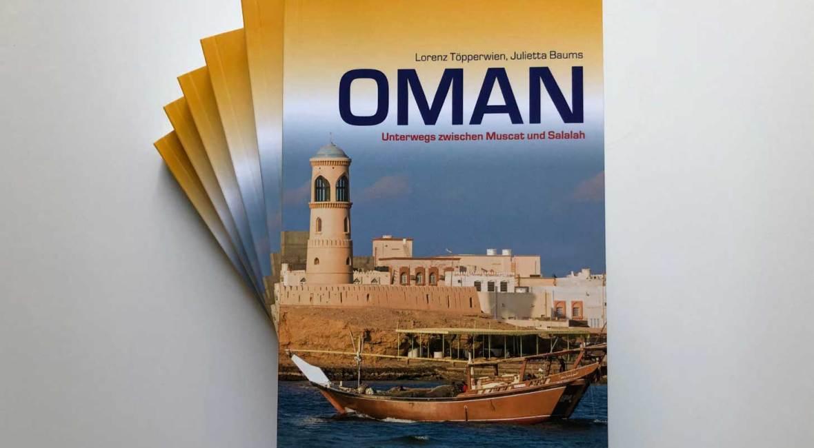 Oman Reiseführer Trescher Verlag, 4. Auflage 2020