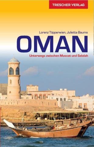 Oman Reiseführer aus dem Trescher Verlag