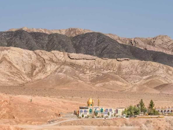 Iranische Wüstenstadt