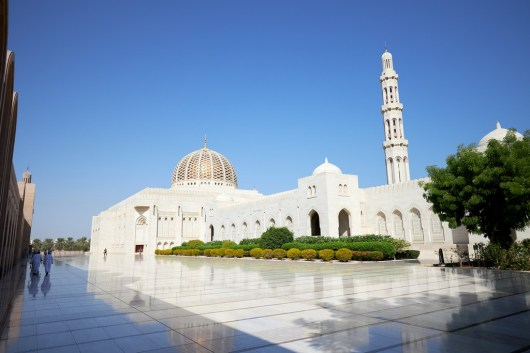 Die Sultan Qaboos Moschee