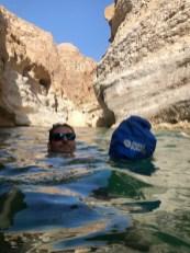 Abkühlung im Wadi