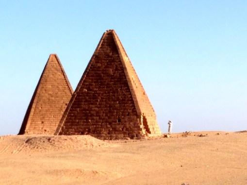 Pyramiden in Sudan
