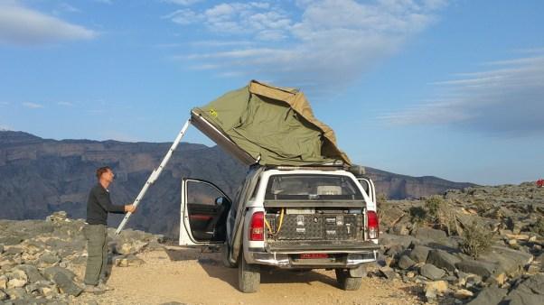 Oman Dachzeltreise