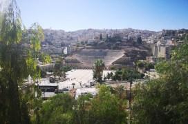 Blick auf das Römische Theater in Amman