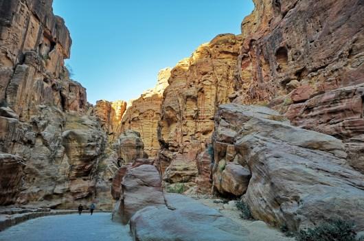 In Stille besucht man Petra nur noch früh morgens im Sommer