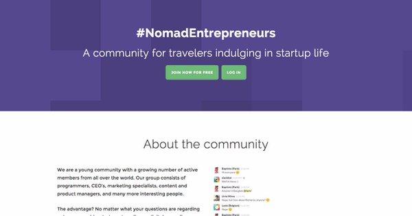 #NomadEntrepreneurs
