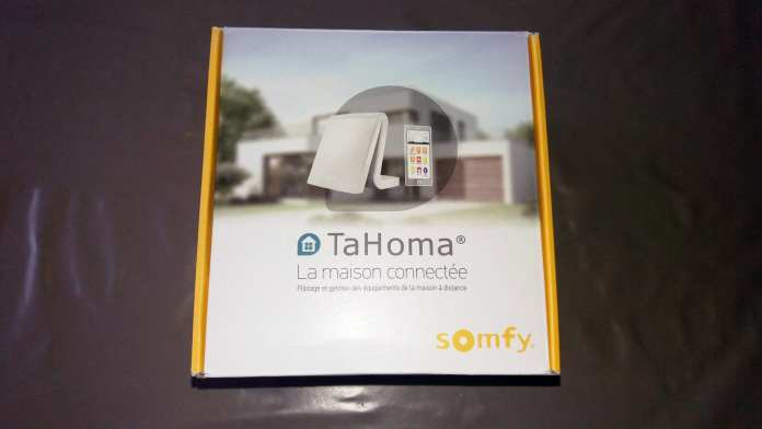 01 TaHoma ... une box domotique by Somfy