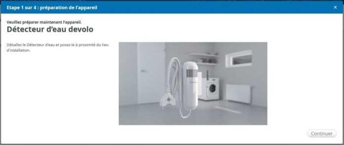 08-1 Test du détecteur d'eau de la gamme Home Control de chez Devolo