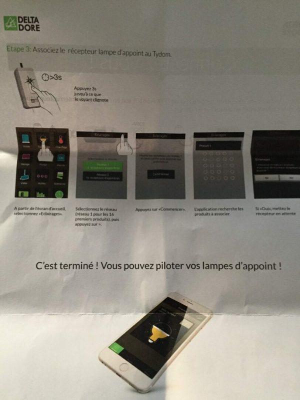 IMG_4161 Test de l'interrupteur d'éclairage d'appoint DeltaDore