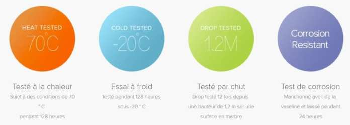 MiBand2-10 Test du bracelet XIAOMI MI BAND 2