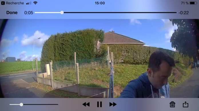 Ring-7093 Test du portier vidéo Wifi Ring Doorbell 2