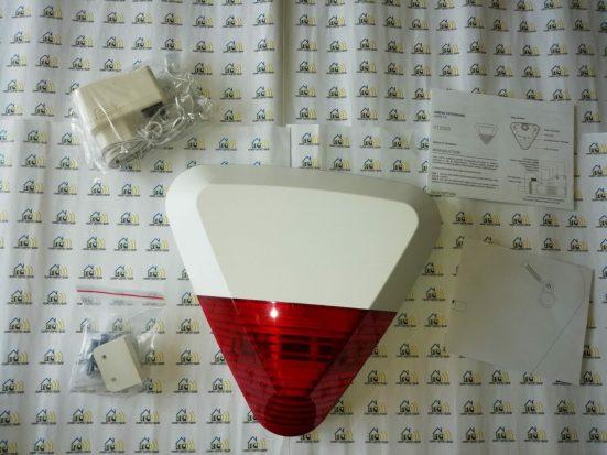 09-3 Test des sirènes intérieure et extérieure pour l'alarme Avosdim