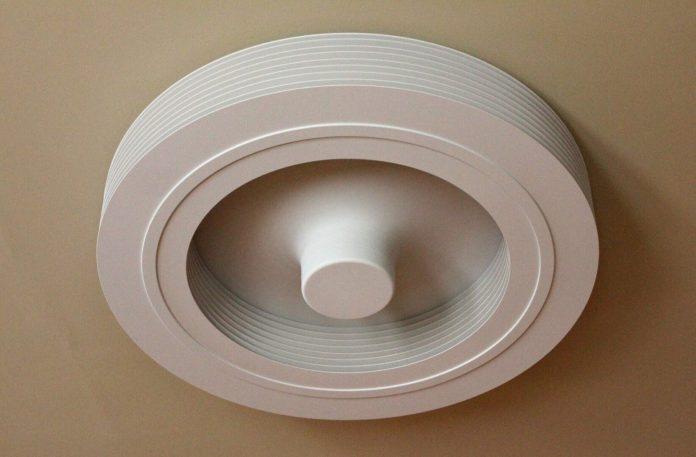 visuel-ventilateur-blanc-1000x657 Exhale, un ventilateur de plafond sans pales et connecté.