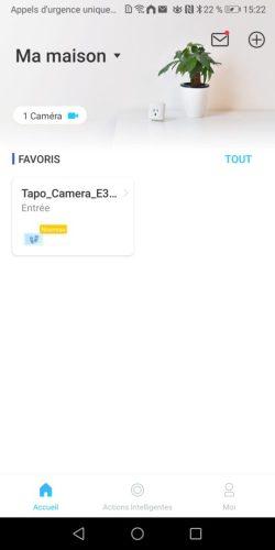 09 Test de la caméra intérieure Tapo C200 de TP-Link