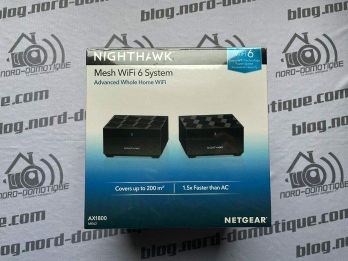 NIGHTHAWK : Test du système WiFi 6 Mesh MK62