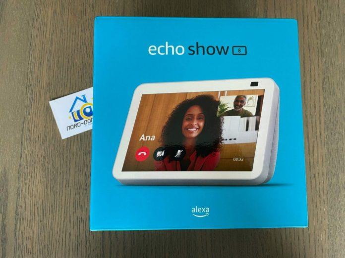 Test du Echo Show 8 de chez Amazon