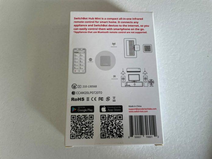 switchbot-2011-scaled Test du Switchbot Hub Mini