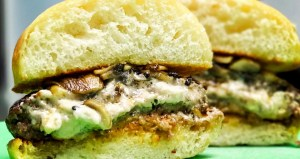 Stuffed Grass-Fed Burgers
