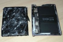 3. Zerstörtes iPad