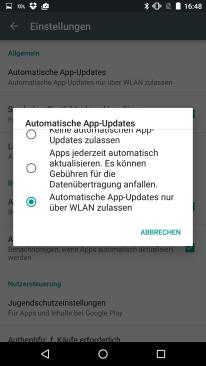 individuelles App-Update