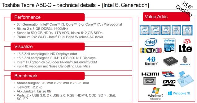 Tecra A50-C