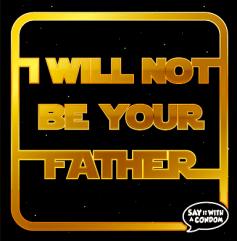 """Darth Vader Condome: """"Ich werde nicht Dein Vater sein!"""""""