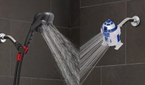 Darth Vader & R2D2 Duschkopf