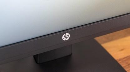 Klassisches HP-Logo unter dem Display
