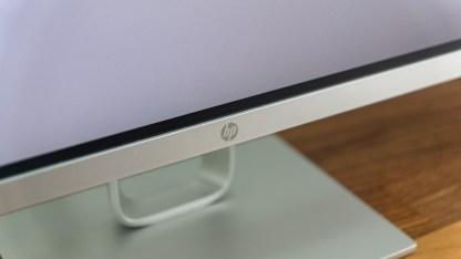 Wie bei den meisten Monitoren ist das Logo unten mittig platziert