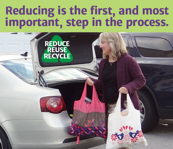 Reducing is the first, and most important, step in the process.