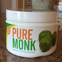 Picture of Pure Monk 100% monk fruit sweetener.